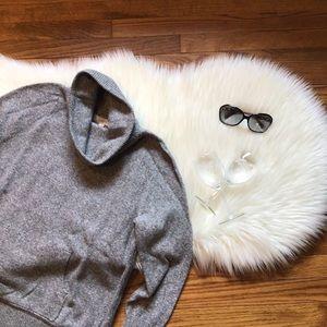 LOFT Turtleneck Pouch Pocket Sweater